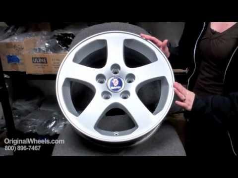 9-7X Rims & 9-7X Wheels - Video of Saab Factory, Original, OEM, stock new & used rim Co.