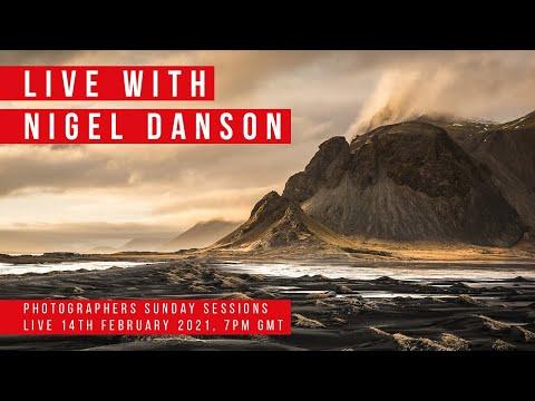 Kase Photographers Sunday Sessions with Nigel Danson