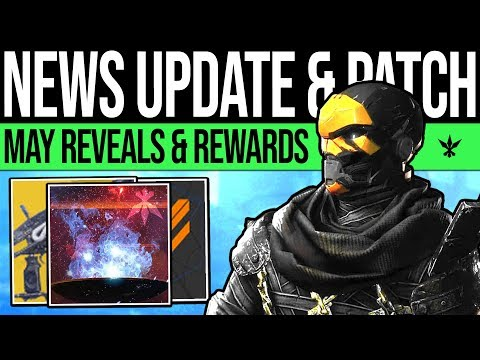 Destiny 2 | MAY UPDATE & REVEAL TEASES! Secret Reward, DLC Content, Catalysts, Super Changes & More!