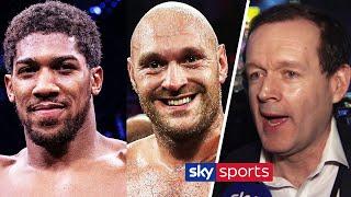 Adam Smith reveals he's been overloaded with calls about Anthony Joshua vs Tyson Fury