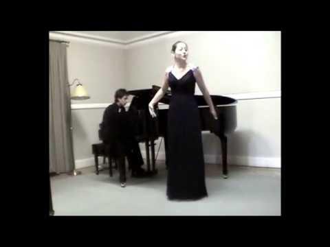 "Dúo Soprano y Piano - ""O mio babbino caro"" de Puccini"