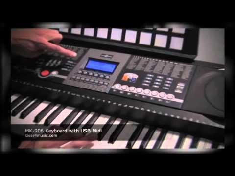 SYNTHÉTISEUR 61 TOUCHES USB (MIDI) STOL MK 906 - NEUF - GARANTIE 12 MOIS