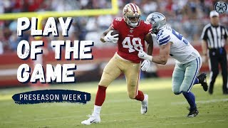 Cowboys vs. 49ers | Play of the Game | Film Room