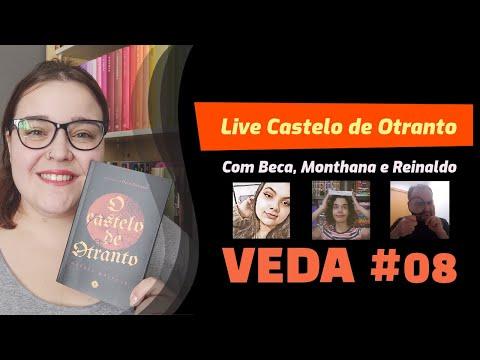 VEDA #08 - Live de Discussão de O Castelo de Otranto | Li num Livro
