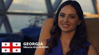 Victoria Kocherova Contestant from Georgia for Miss World 2016 Introduction