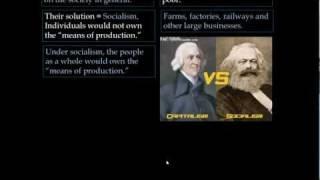 Laissez-Faire Capitalism and Socialism