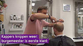 Burgemeesters direct naar de kapper: 'Zó, er zit weer model in'