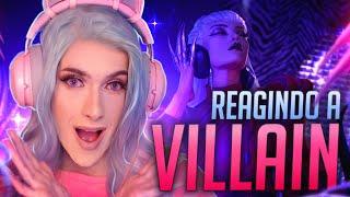 REAGINDO A VILLAIN - K/DA [Official Concept Video] - ZAHRI REACT #15