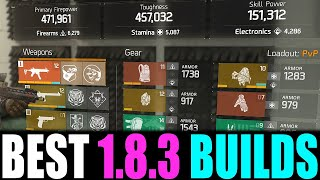 THE BEST BUILD FOR NEW / RETURNING PLAYERS... (THE DIVISION 1.8.3)