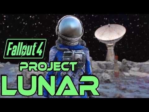 Fallout 4 - TRAVEL TO THE MOON! - Project Lunar - Moon Base Settlement - Xbox & PC Mod