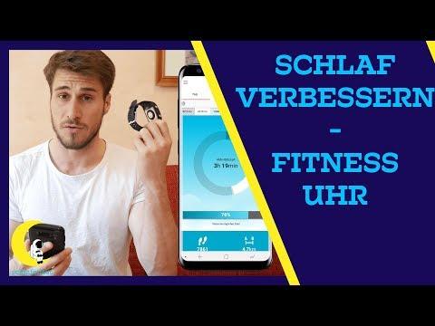 Schlaf verbessern mit Fitness Uhr und Smartphone