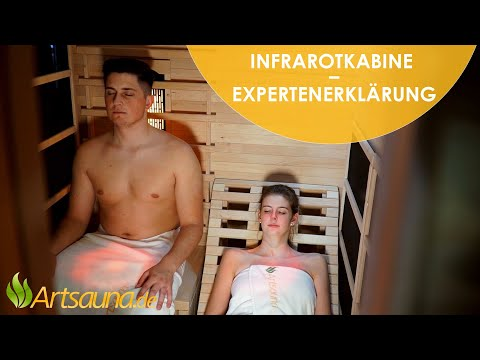 Infrarotkabine – Eine Expertenerklärung [Informationsvideo] | Artsauna ☀