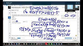 Statistics Humor - Actual Online Class