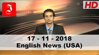 News English USA 17th Nov 2018