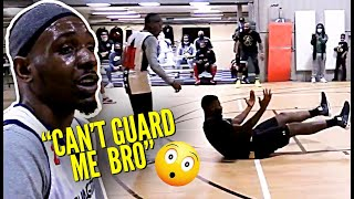 5'6 Aquille Carr Drops 40 POINTS vs Defender TWICE HIS SIZE!! The Crime Stopper Went CRAZY!