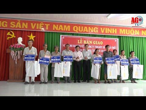 Bàn giao 142 căn nhà Đại đoàn kết cho huyện Châu Thành