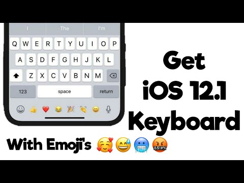 Download Get iOS 12.1 Keyboard On Android No Root 2019 Mp4 HD Video and MP3