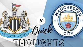 The dream ends | Newcastle United 0-2 Manchester City
