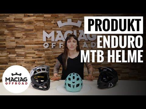Bester MTB Enduro Helm: Produktvergleich Halbschalen-, Hybrid - und Fullfacehelm