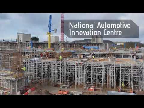 Formwork case study: National Automotive Innovation Centre