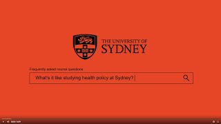Master of Health Policy – Frequently Asked Questions