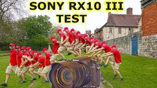 Sony RX10 Mark III: 4K Handheld video (preview) - hmong video