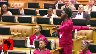 The Springboks achievement celebrated in Parliament - But NOT the EFF?  MY AFRICA welcomes all comments that are constructive, contribute to discussions in a meaningful manner and take stories forward. However, we will NOT condone the following: - Racism (including offensive comments based on ethnicity and nationality) - Sexism - Homophobia - Religious intolerance - Cyber bullying - Hate speech - Derogatory language - Comments inciting violence. We strive to make the YouTube (MY AFRICA) community a safe and welcoming space for all.