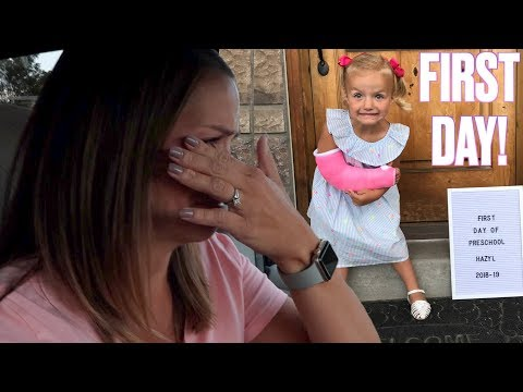 Download MOTHER'S EMOTIONAL REACTION TO YOUNGEST DAUGHTER'S FIRST DAY OF PRESCHOOL WITH A BROKEN ARM HD Mp4 3GP Video and MP3