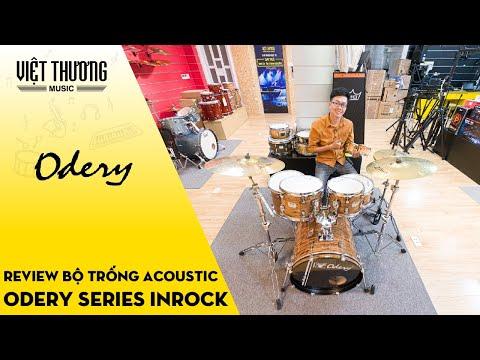Review bộ trống Odery series InRock với màu sắc khá đẹp