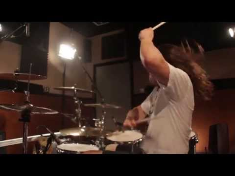 Aggressive Drum Soloing.