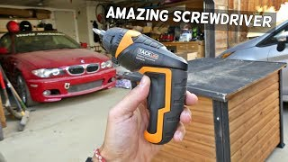 BEST SCREWDRIVER Tacklife SDP50DC Advanced Cordless Screwdriver Video Review