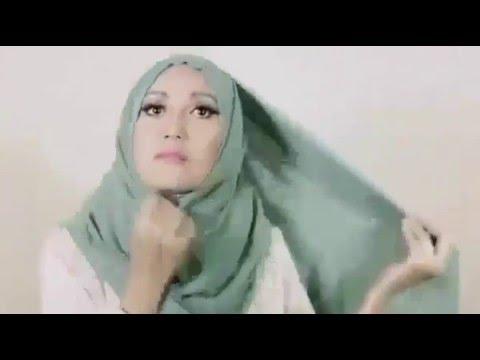 Video Cara Pakai Hijab Tanpa Menggunakan Jarum Pentul