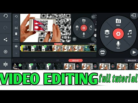 Video Editing|भिडियो बनाउने तरिका।kinemaster Tutorial Nepali|how To Video Edit On Android|