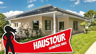 Haustour: Bungalow Und Stadtvilla? Außergewöhnliches Fertighaus Von Schwörer Haus | Hausbau Helden