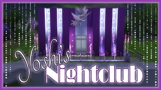 The Sims 4: Speed Build - Yoshi's Nightclub