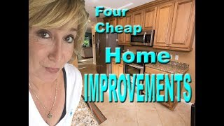 Four Cheap Home Improvements You Can Do
