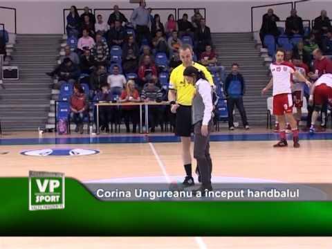 Corina Ungureanu a început handbalul