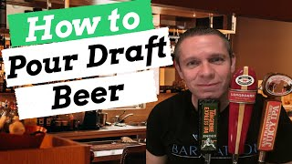 How To Pour Draft Beer Like A Pro/ How To Become A Bartender