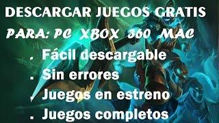 Descargar Juegos Para Pc Gratis Y Completos En Espanol Free Video