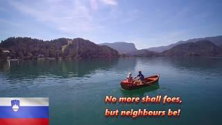 National Anthem: Slovenia-Zdravljica (english subtitles)
