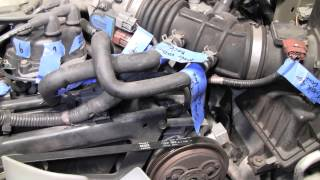 Nissan Pathfinder Xterra transmission valve body removal and repair