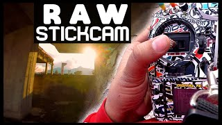 STICKCAM RAW in my FPV FreeStyle PARK before CORONA TIME - RAW VERSION | EDITED VS RAW | 2/2