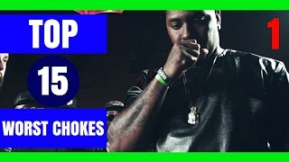 Top 15 Worst Chokes In Battle Rap History - Part 1