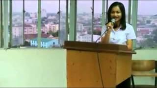 การพูดในโอกาสต่างๆ (การกล่าวเปิดงานสัมมนาเชิงวิชาการ) ของนักศึกษาโปรแกรมพุทธศาสนศึกษา ปี 1