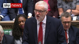 BREAKING: Corbyn - 'I understand fatigue - but we can't vote for this deal'
