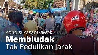 Viral Foto Pasar Gawok Sukoharjo Membludak, Pengunjung Tak Pedulikan Jarak, Ini Kesaksian Pedagang
