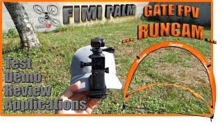 FIMI PALM en action, GATES FPV Runcam - dé-confinement en douceur - lol