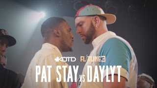 KOTD - Rap Battle - Pat Stay Vs Daylyt (Title Match) | #Flatline3