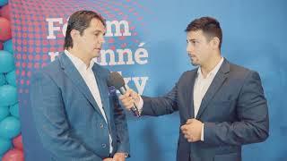 Rozhovor s Davidem Škrobánkem na Fóru rodinné politiky v Plzni