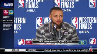 Stephen Curry | Western Conference Finals Game 3 Press Conference - Video Youtube